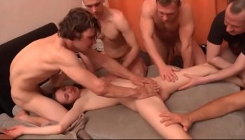 Anal with a horny french girl