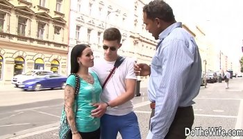 Porn with mature housewife Nina Elle and her young lover Danny Mountain