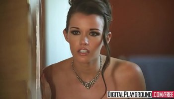 thicc amateur ebony babe works white cock trueamateurs
