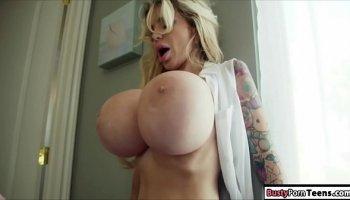 Busty secretary uncensored