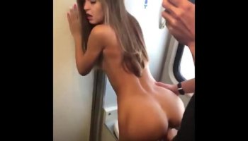 German monster tit milf get fucked on the street two young boys