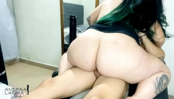 Hot slim Latina bitch Anya Krey gets her ass licked and fucked