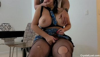my first abritvideo neighbor seduced in nylons
