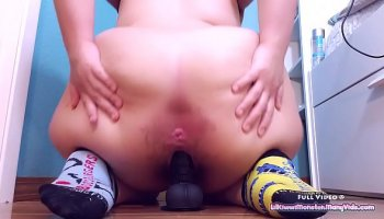 Nylon foot fetish amateur